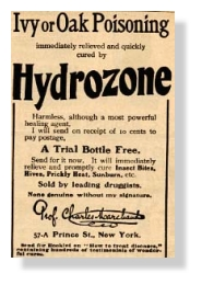 Wassertoffperoxid, Hydrozone