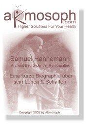 biographie hahnemann